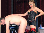 Face slapping mistress